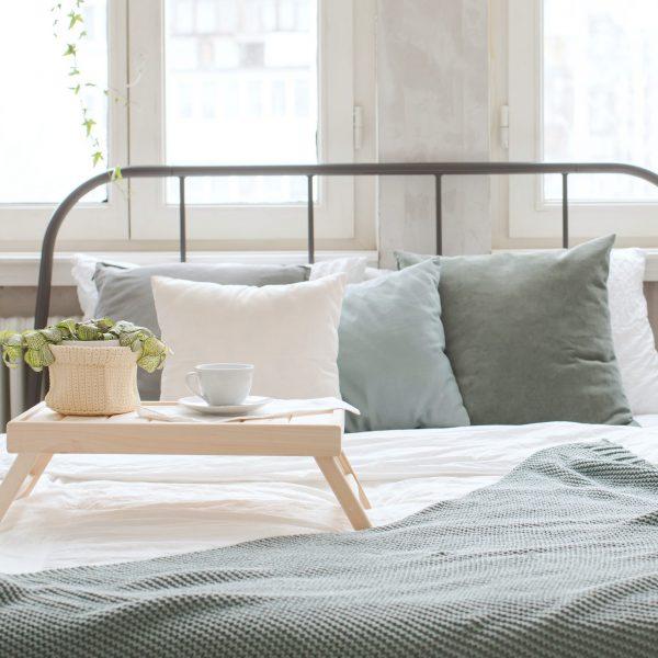 miętowe i szałwiowe poduszki